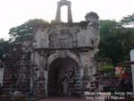 Fort A-Famosa in Melaka