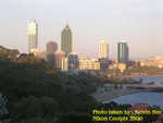 Another view of Perth city from King's Park