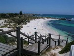 Another beach towards north of Rottnest Island