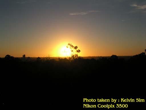 Sunset in King's Park